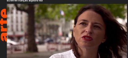 Intervention de Mathilde Lévêque dans <em>La force des Livres</em> sur ARTE