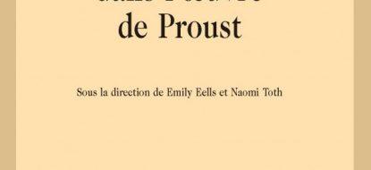Parution : Son et traduction dans l'oeuvre de Proust